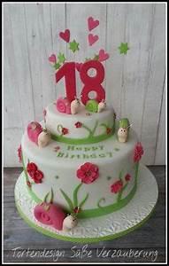 Kuchen 18 Geburtstag : torte zum 18 geburtstag mit schnecken bithday cake with snail tortendesign s e verzauberung ~ Frokenaadalensverden.com Haus und Dekorationen