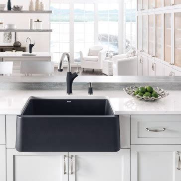 front apron kitchen sinks blanco 401734 ikon 30 quot apron front sink 3659
