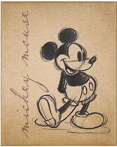 Amazing Savings on Mickey Mouse Sketch Canvas Art Print