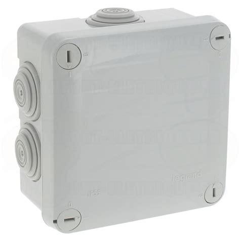 boite de derivation exterieur boite de d 233 rivation 233 tanche 100 x 100 x 55 mm legrand plexo