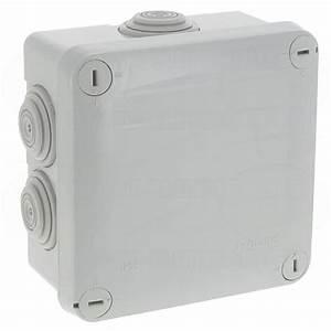 Boite De Derivation Electrique : boite de d rivation tanche 100 x 100 x 55 mm legrand plexo ~ Dailycaller-alerts.com Idées de Décoration