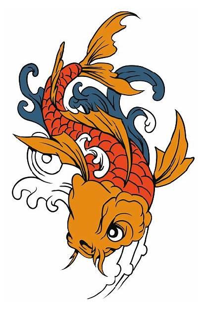 Koi Fish Tattoo Transparent Drawing Clipart Tattoos
