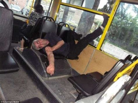 collection  pictures shows  people  fall asleep