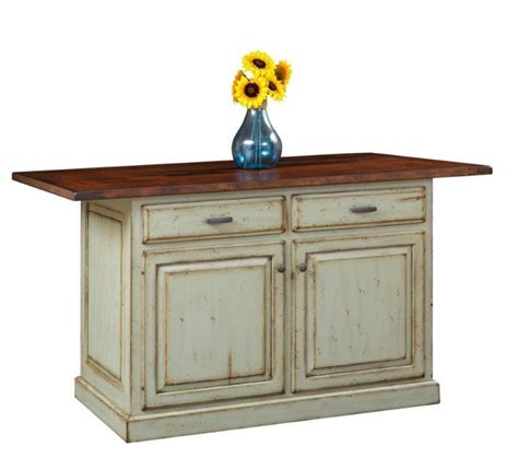 kitchen collection lancaster pa solid wood kitchen island with closed storage from