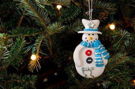 christmas tree ornaments  air dry clay ebay