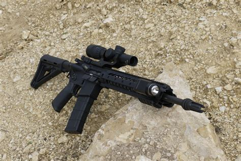 ar15 weapon light gear review streamlight tlr 1 on a rifle the