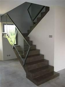 Escalier En U : etape habillage escalier ~ Farleysfitness.com Idées de Décoration