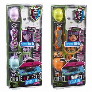Childrens Girls Monster High Create A Monster Lab Pack ...
