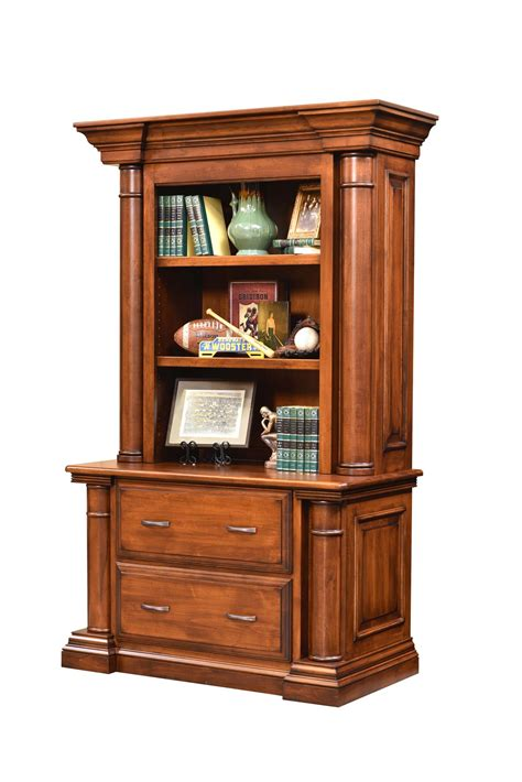 Bookcases With Cabinets by Amish Lateral File Cabinet Bookcase