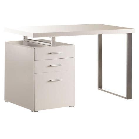 modern desk white modern desks carey white desk eurway furniture