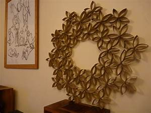 noisy pitta recycle used toilet roll tubes into gorgeous With toilet paper roll wall art