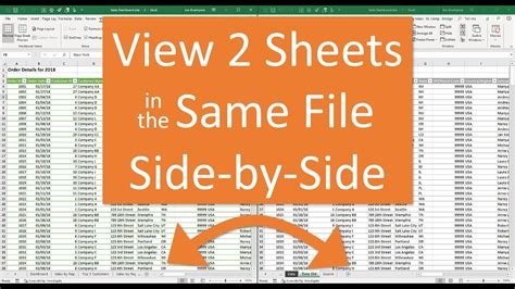split screen function  microsoft excel