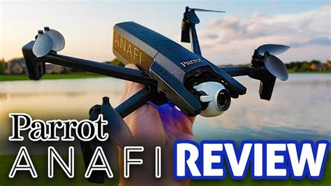 parrot anafi review drone store
