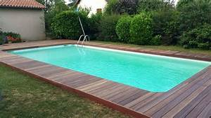 Tour De Piscine Bois : une terrasse en bois sur mesure pour souligner votre piscine ~ Premium-room.com Idées de Décoration