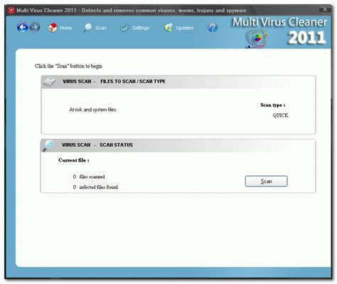 Multi Virus Cleaner  The Portable Freeware Collection
