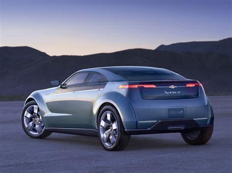 Chevrolet Volt Concept -hybrid Electric Car