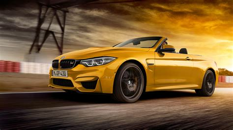 Bmw 4 Series Convertible 4k Wallpapers by 2018 Bmw M4 Convertible 30 Jahre Special Edition 4k 2