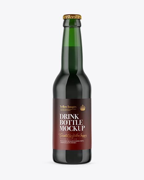 Beer bottles and corks, cappers, caps, and everything else you need to bottle beer! Free 330ml Green Glass Bottle with Dark Beer Mockup - Free ...