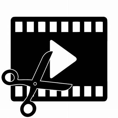 Editing Editor Software Clipart Icon Film Transparent