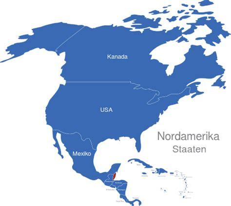 Nordamerika Länder interaktive Landkarte | Image-maps.de