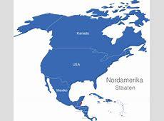 Nordamerika Länder interaktive Landkarte Imagemapsde
