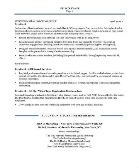 Free Resume Program by Community Relations Manager Page2 Non Profit Resume