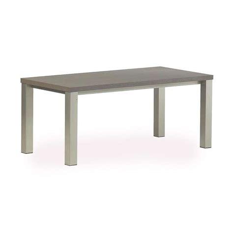 table cuisine 4 pieds table rectangle de cuisine en stratifié quadra 4 pieds