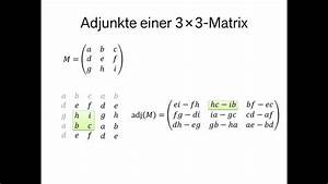 Eigenwert Matrix Berechnen : inverse matrix mit adjunkten youtube ~ Themetempest.com Abrechnung