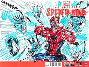 superior spider-man blank cover 1VIII by joselrodriguesart ...