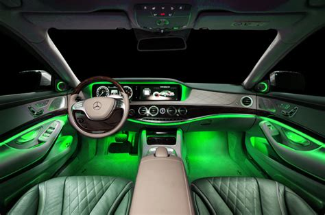 opt pc show glow   led strips red interior