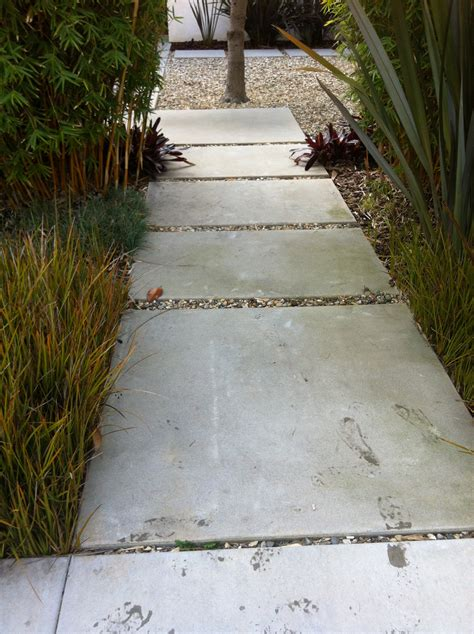 large cement pavers large rectangular concrete pavers contemporary mid century modern house exterior pinterest
