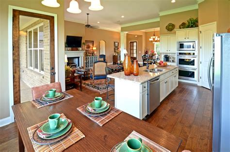 Archaic Open Floor Plan Kitchen Dining Living Living Spaces Dining Room Sets Another Name For Bench Seat Table With Benches Flooring Options Modern Ideas Thomasville Two Tone Walls