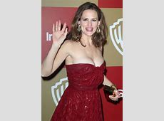 Jennifer Garner Wardrobe Malfunction — Boobs Almost BUST