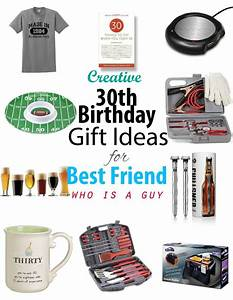 Creative 30th Birthday Gift ideas for Male Best Friend ...