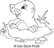 gopher clipart black and white mole illustrations and clipart 841 mole royalty free