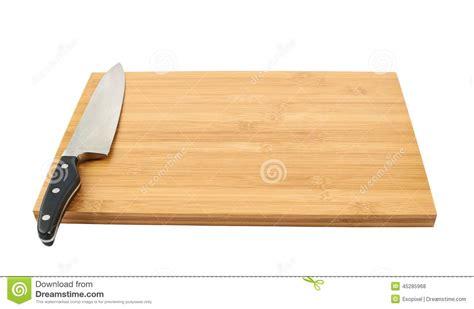 planche bar cuisine couteau de cuisine en acier sur la planche à découper