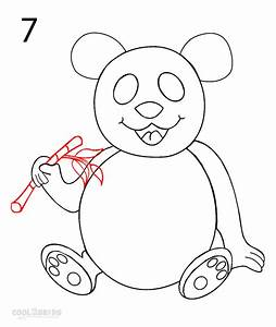 How to Draw a Panda (Step by Step Pictures) | Cool2bKids