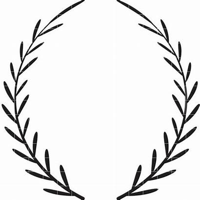 Wreath Laurel Clipart Clip Vine Flower Leaf