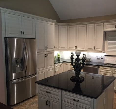 Kitchen Collection Locations by Cabinets To Go Customer Remodels Gallery Classic White