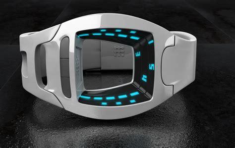 minimalist sci fi led  design gadgets matrix