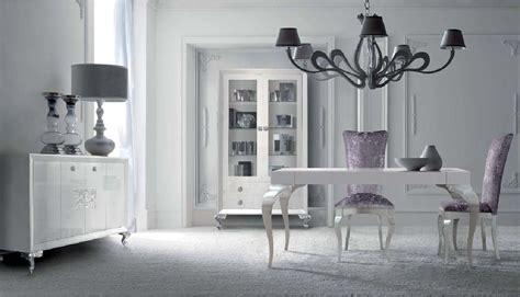 elegante salon  comedor blanco  plata villalba