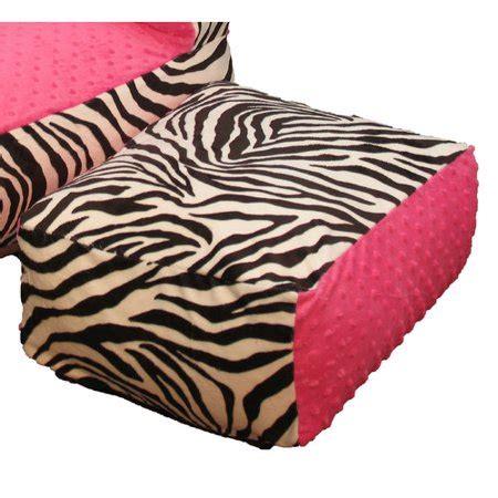 Zebra Ottoman Walmart - ozark mountain pink zebra ottoman walmart