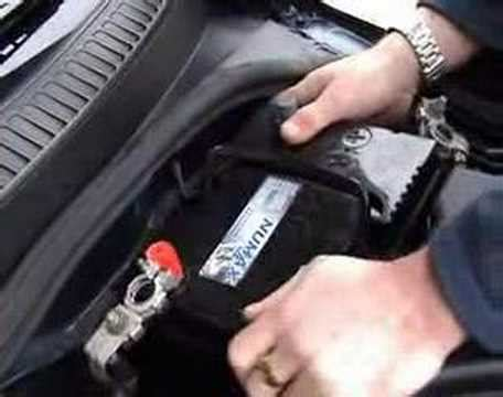fit change  car battery youtube