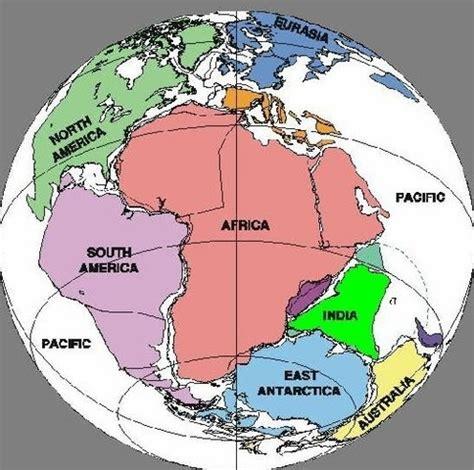 Jordens geografiska utveckling timeline | Timetoast timelines