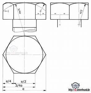 Sechskant Berechnen : tec lehrerfreund sechskant fasenbogen ~ Themetempest.com Abrechnung