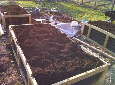 Hugelkultur Raised Beds by No Irrigation Raised Bed Gardening System Hugelkultur