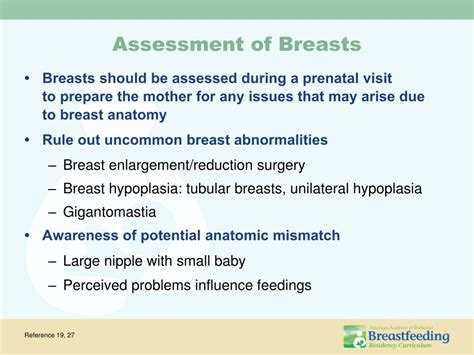 Ppt Management Of Common Breastfeeding Problems