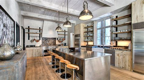 rustic industrial decor 15 outstanding industrial kitchens home design lover Modern