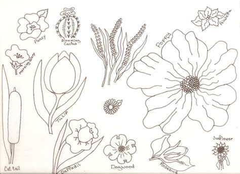 gallery drawing small flowers drawings art gallery