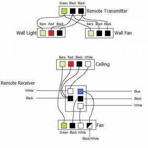 Hampton Bay Ceiling Fan Wiring Schematic